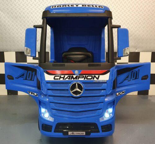 vrachtwagen kind