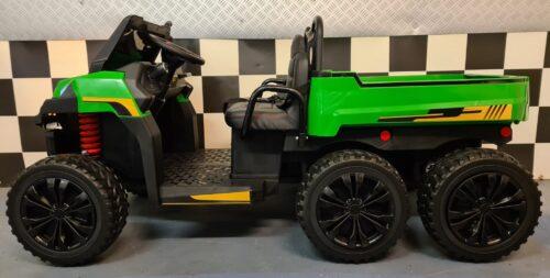 Accu kinderauto Farmer Truck met 6 wielen
