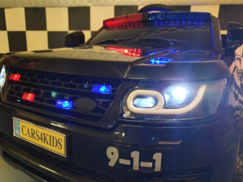 elektrische accu auto politie