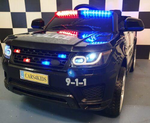 Politieauto elektrische speelgoed kinderjeep