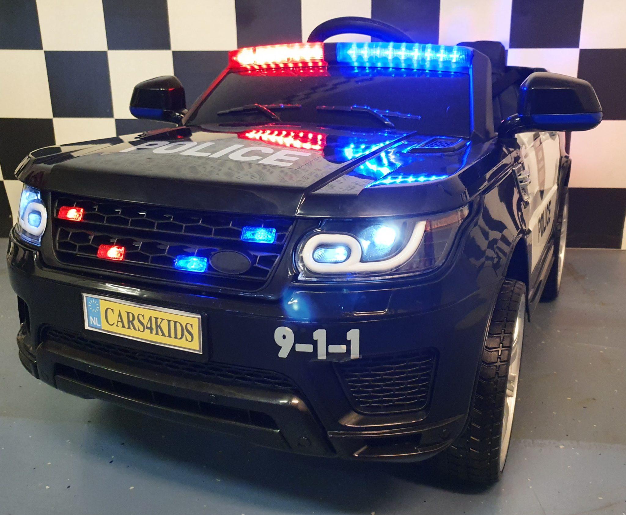 Politieauto elektrische speelgoed kinderjeep 12V 2.4G RC