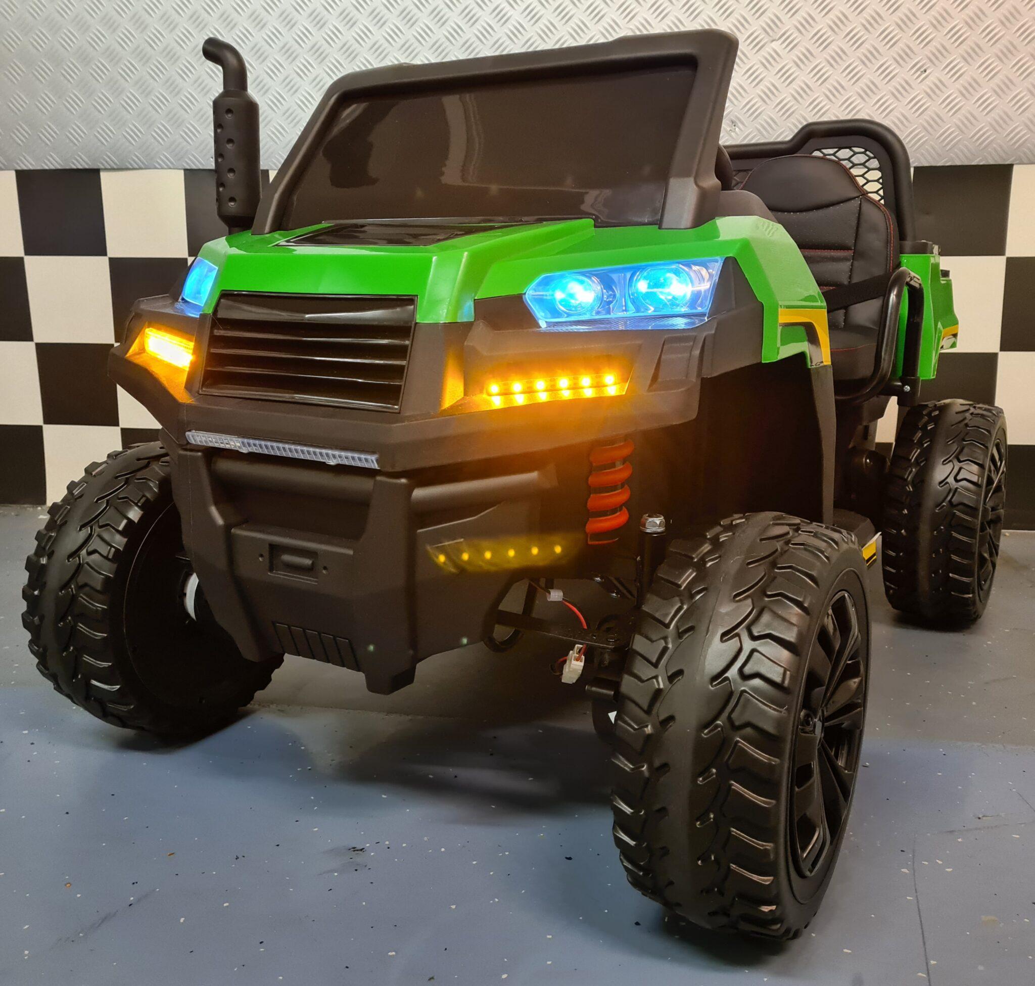 Farmer Truck 4×4 kinderauto 12volt, 4WD met afstandsbediening