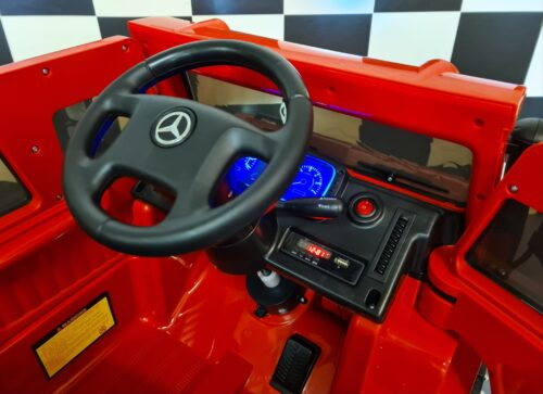 Elektrische accu kinderauto Mercedes Unimog
