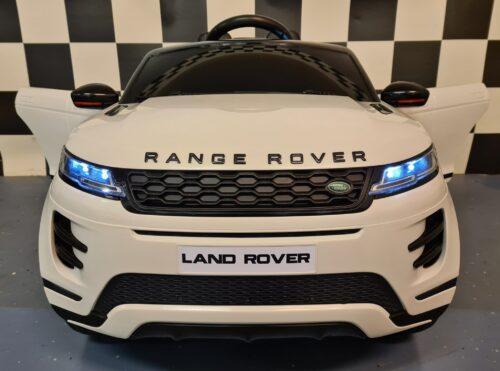 kinderauto Range Rover Evoque wit