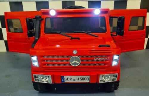 speelgoed jeep Mercedes Unimog