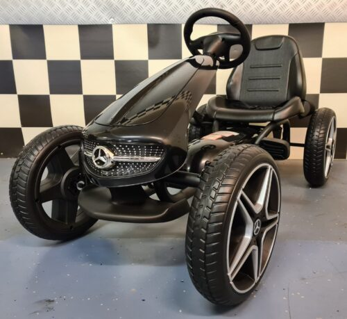 Go Kart Mercedes Skelter zwart