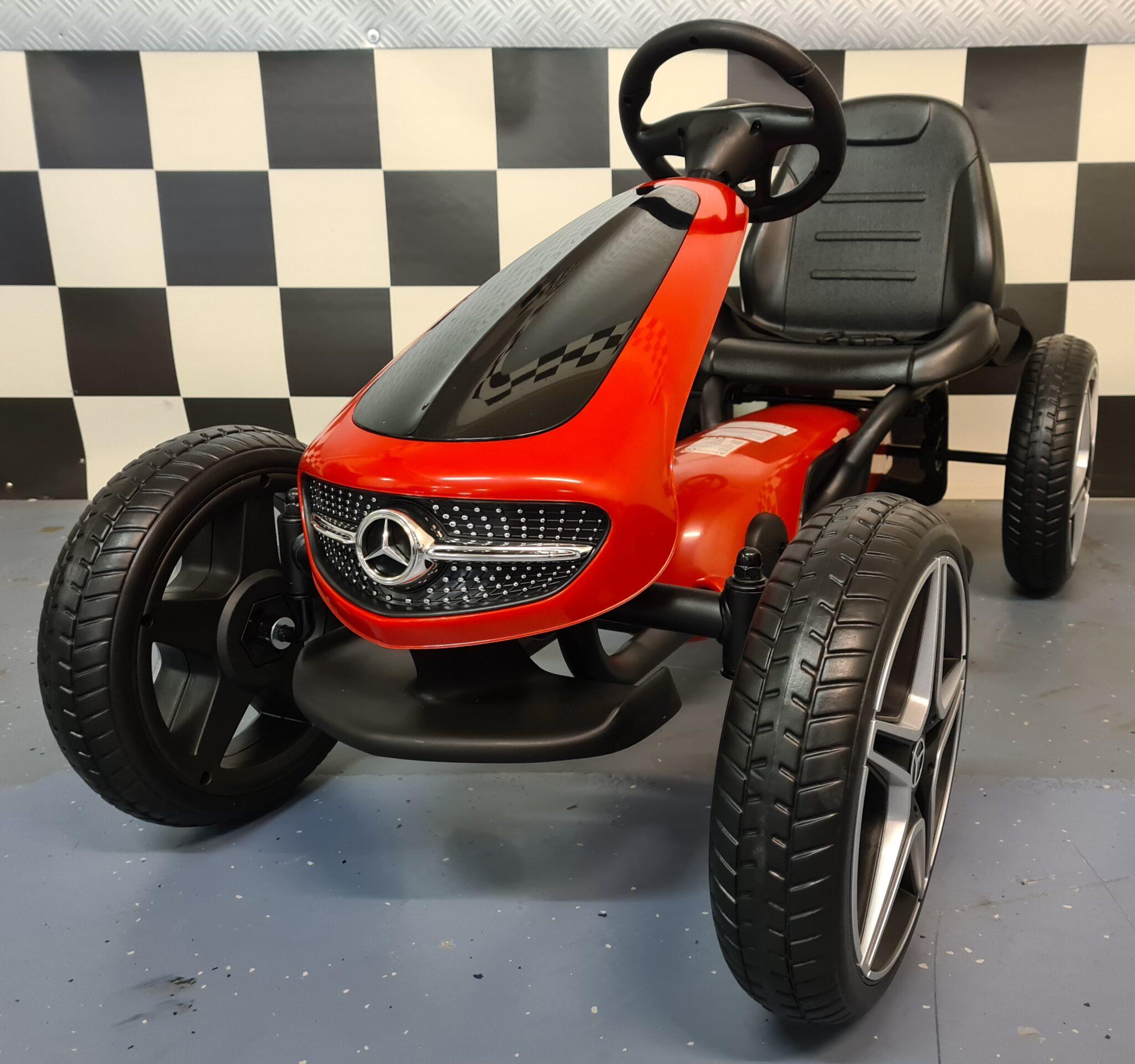 Mercedes Benz Skelter rood