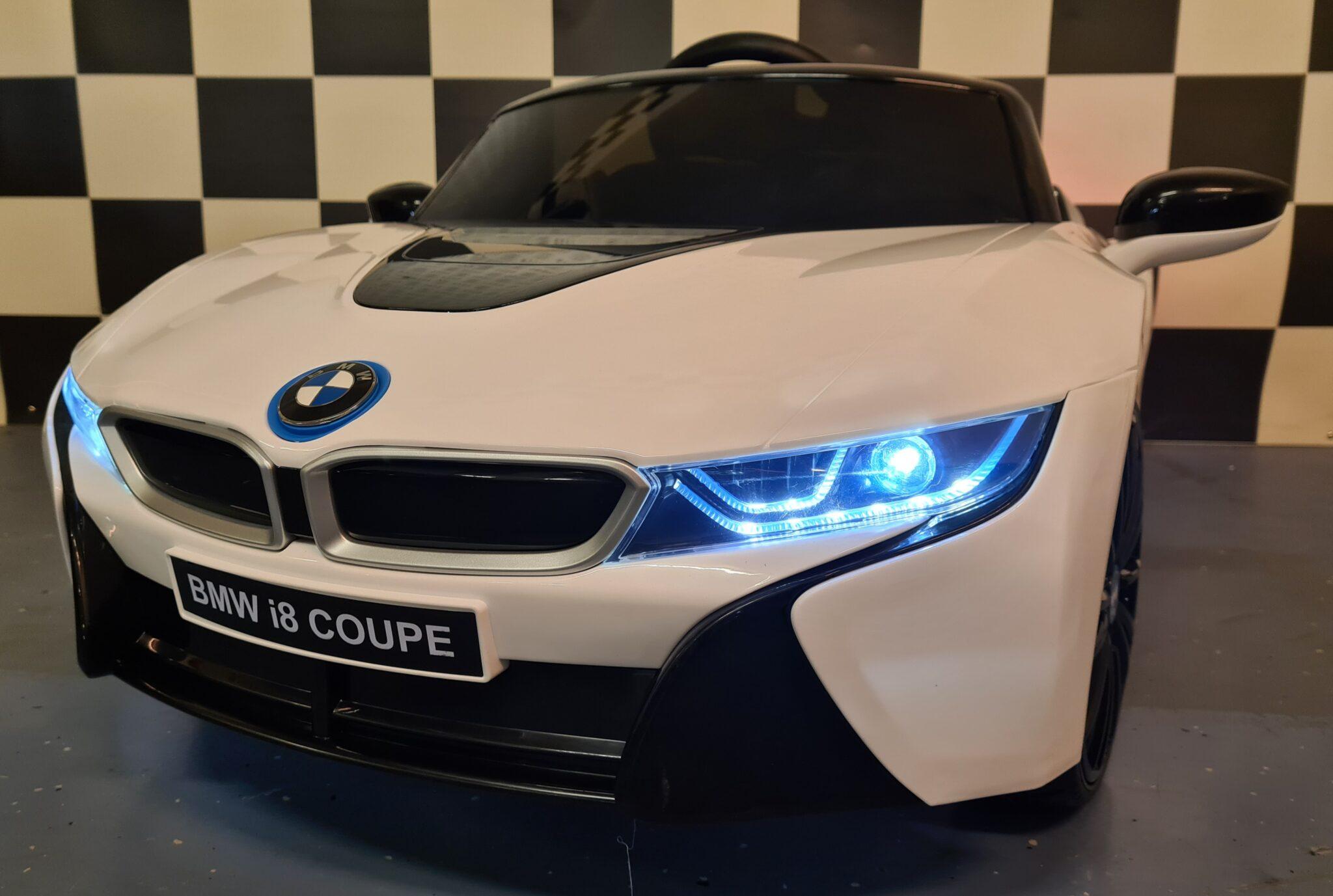 Elektrische kinderauto BMW i8 12V 2.4G afstandbediening