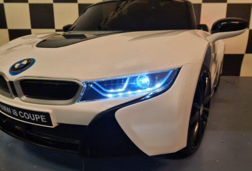 Elektrische accu kinderauto BMW i8