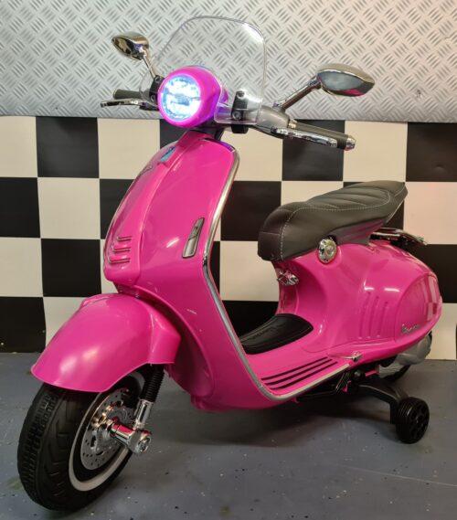 Elektrische Vespa scooter