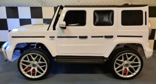 Accu speelgoed auto Mercedes G63 2 persoons