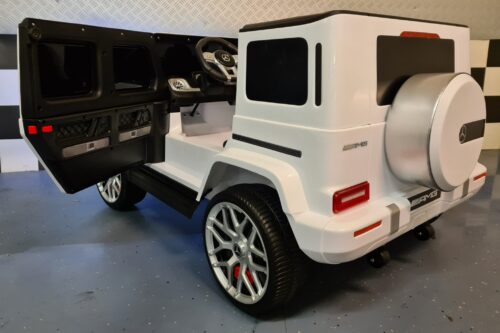 Mercedes G63 kinderauto 2 persoons