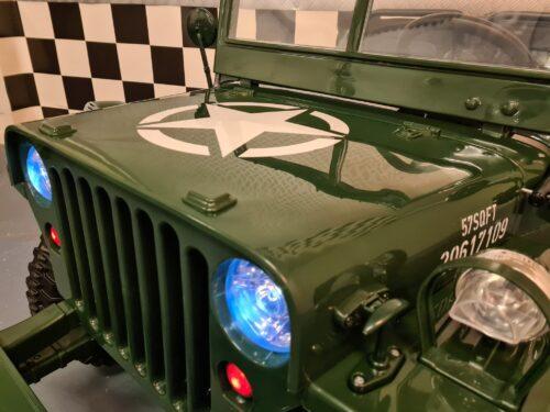 Willy`s jeep elektrische kinderauto