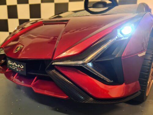 Accu speelgoedauto kind Lamborghini Sian