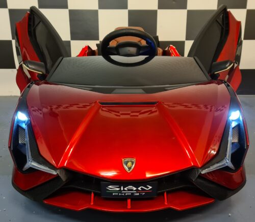 Lamborghini Sian accu kinderauto