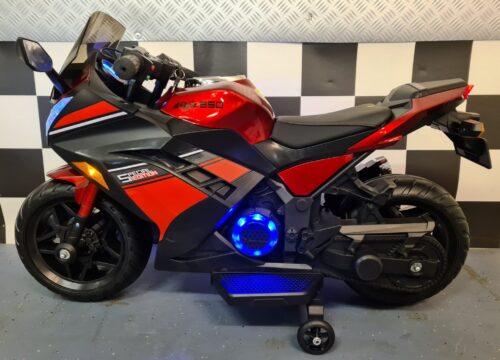 Speelgoed motor Ninja rood