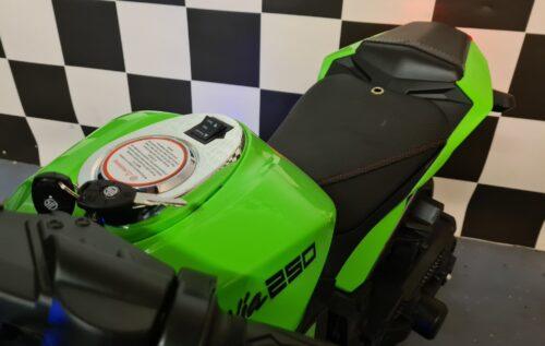 accu kinder motor Ninja groen