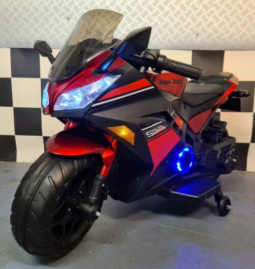 accu kinder motor Ninja rood
