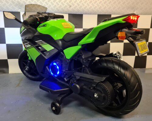 accu speelgoed motor Ninja groen