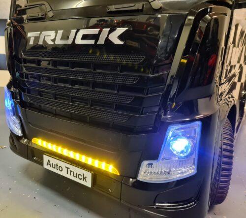 Accu kinder truck met container
