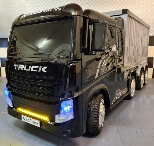 Elektrische kinder vrachtwagen