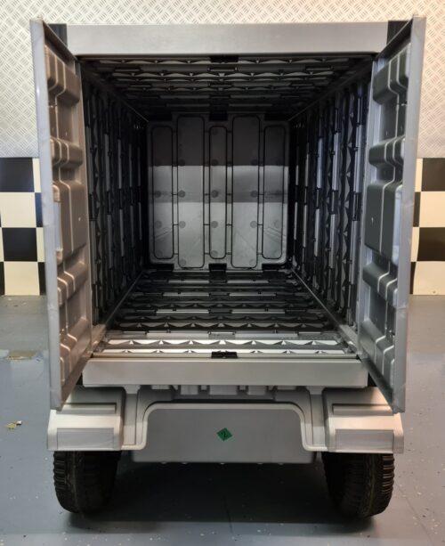 accu kinder vrachtwagen met container