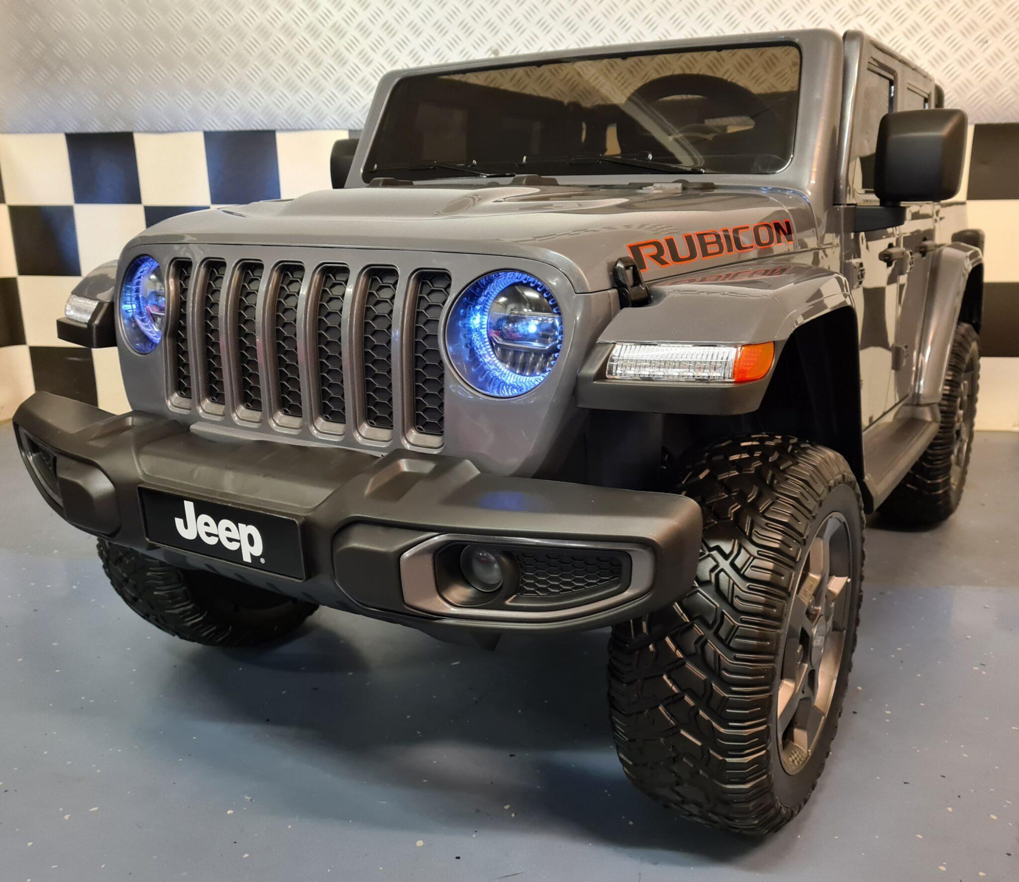 2 persoons kinderjeep Jeep Gladiator 12volt met afstandsbediening