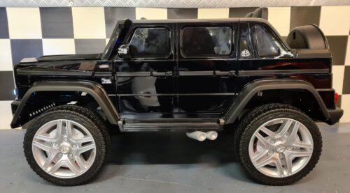 Elektrische kinderauto Mercedes Maybach zwart