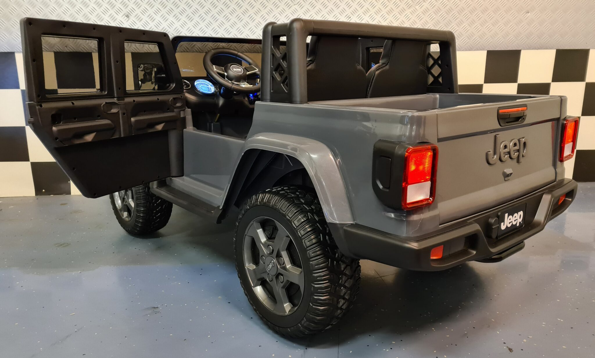 Jeep Gladiator elektrische kinderauto