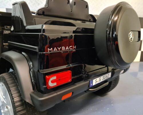 Mercedes Maybach elektrische kinderauto zwart