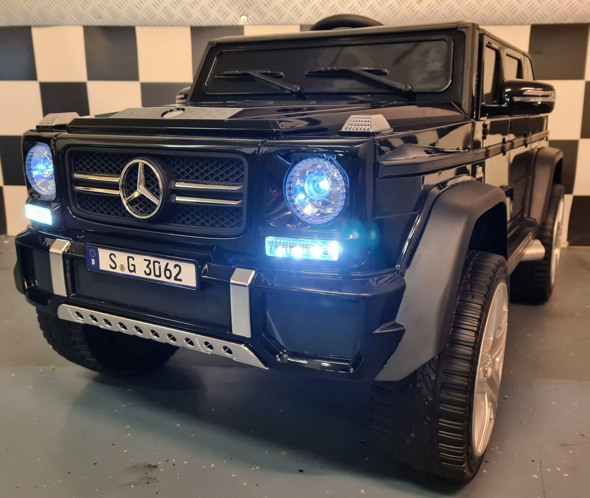 Mercedes Maybach kinderauto G650 12Volt 1 persoons zwart