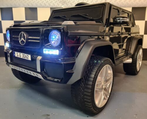 Speelgoedauto Mercedes Maybach zwart