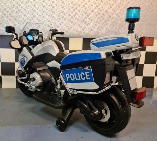 elektrische kindermotor politie