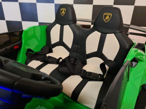 2 persoons accu kinderauto Lamborghini