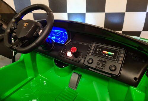Accu kinder auto 2 persoons Lamborghini