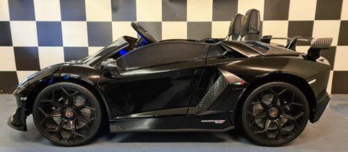 Lamborghini Aventador elektrische accu kinderauto