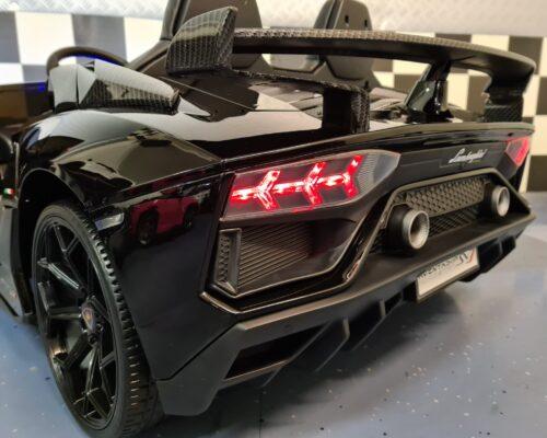 Lamborghini elektrische kinderauto 2 persoons