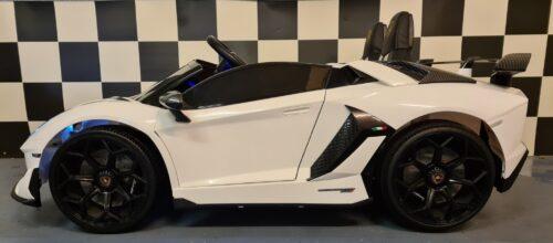 accu kinderauto Lamborghini 2 persoons wit