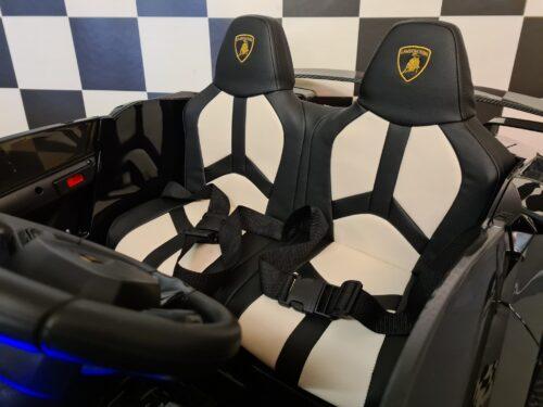 elektrische kinderauto 2 persoons Lamborghini