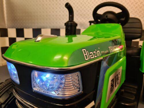 kinder tractor met afstandsbediening