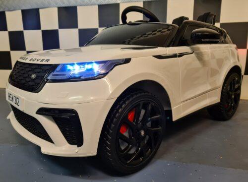 Accu kinderauto Range Rover Velar wit
