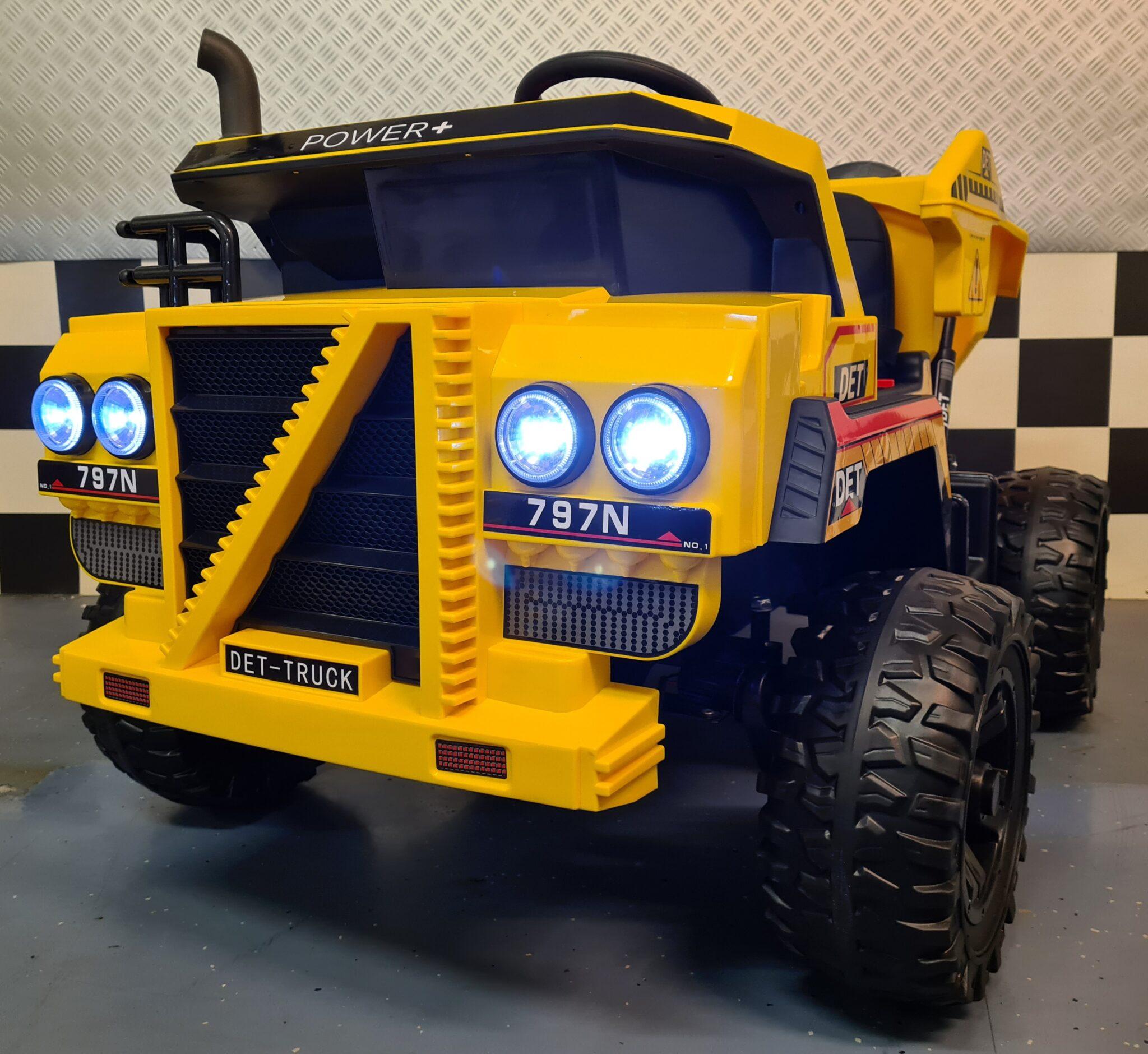 Dumper elektrische kinder truck 4×4 met afstandsbediening