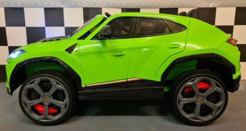 Lamborghini Urus elektrische kinderauto groen