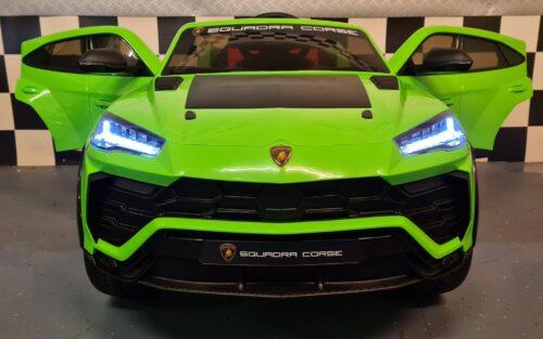 Lamborghini Urus groen kinderauto