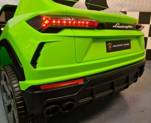 Lamborghini groen kinderauto