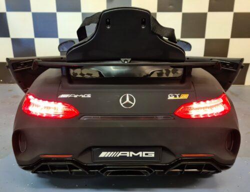 Mercedes kinderauto mat zwart
