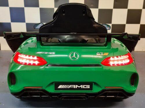 Speelgoedauto Mercedes GTR metallic groen