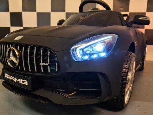 speelgoedauto Mercedes GTR mat zwart