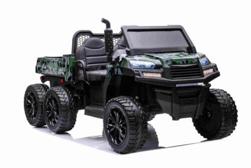 Elektrische kinder truck camo 6x6