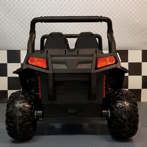 V Twin kinderauto wit 4x4 2.4 G afstandbediening 12 volt